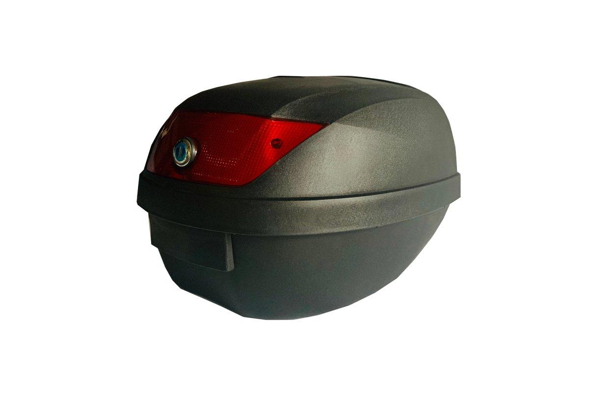 Moto bagāžas kaste, melna, 28 litri