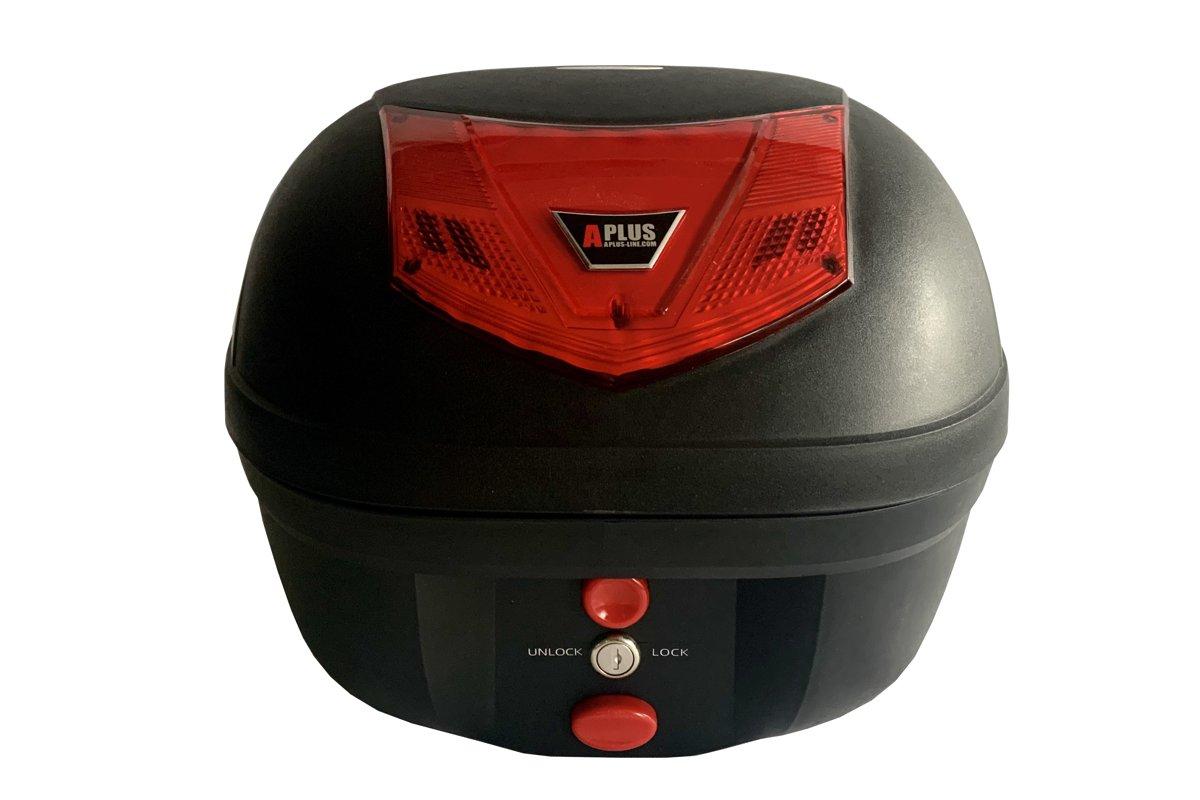 Moto bagāžas top kaste APLUS, 28 litri