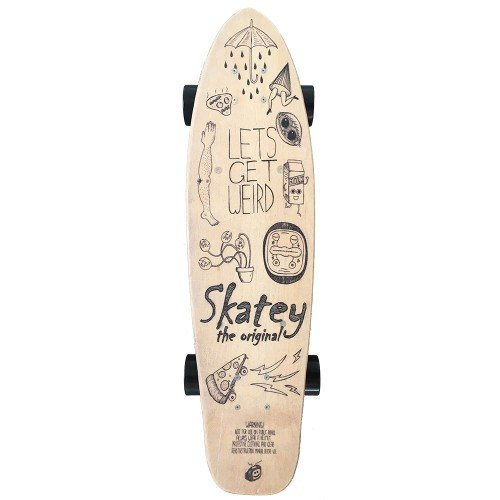 Skatey 350 Lithium Wood Art electric board