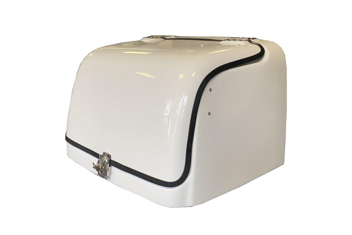 Motorollera kaste profesionālām piegādēm CARGO