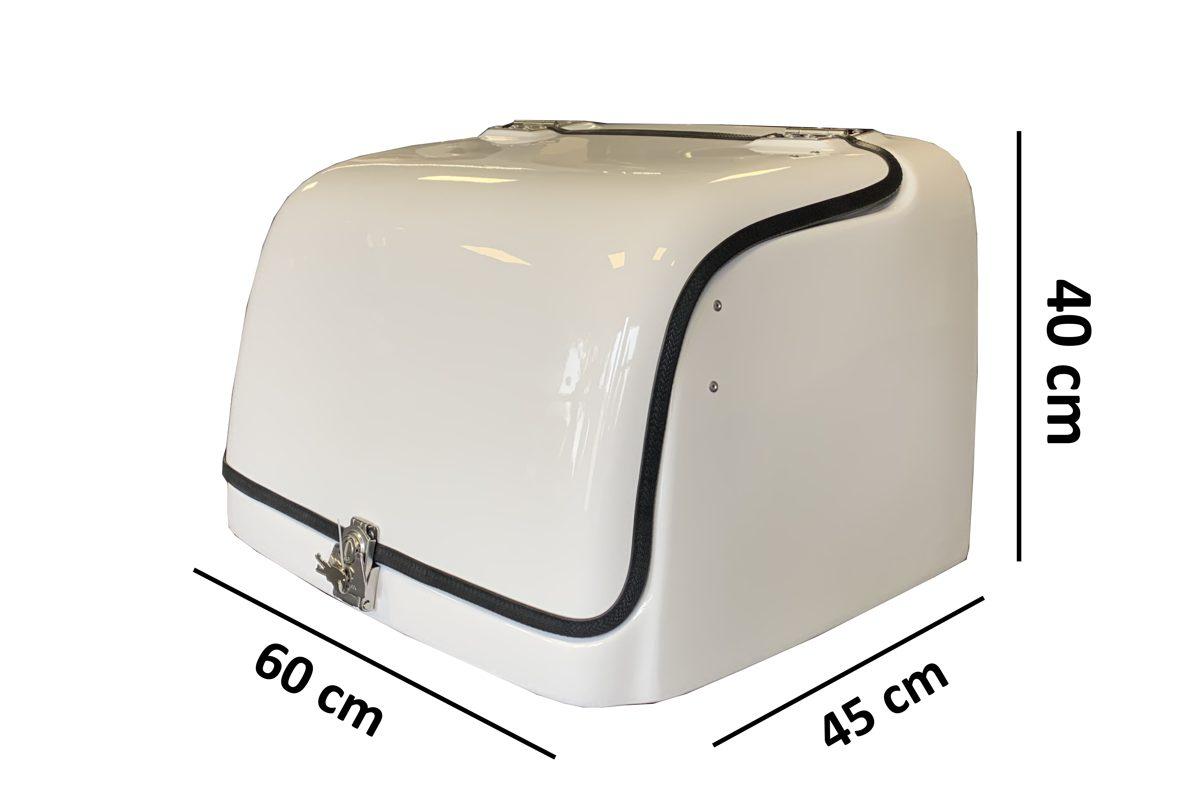Motorllera kaste profesianālām piegādēm CARGO