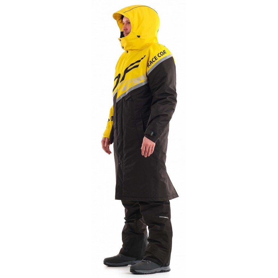 DRAGONFLY Ziemas lietusmētelis RACE COAT Yellow