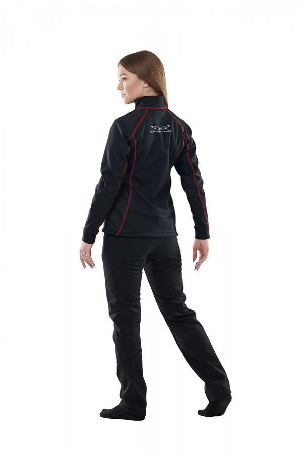 Sieviešu jaka Dragonfly Explorer BLACK, softshell