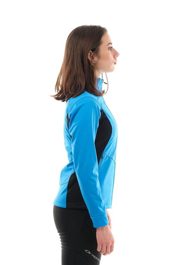 Sieviešu jaka Dragonfly Explorer BLUE, softshell