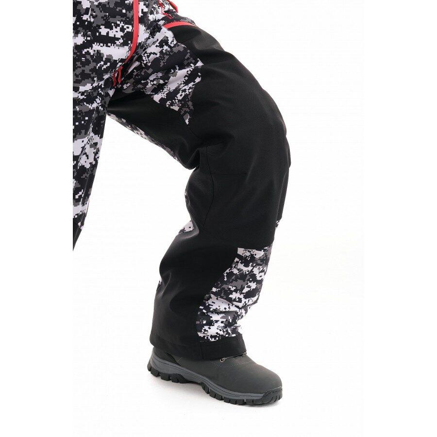 DRAGONFLY EXTREME vīriešu ziemas kombinezons, CAMO / BLACK