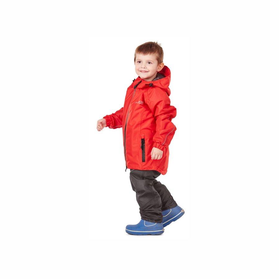 Bērnu lietus - membrānas komplekts (jaka, bikses) Dragonfly EVO Kids RED
