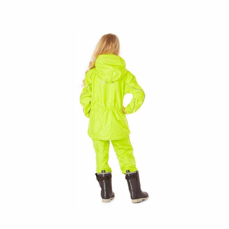 Bērnu lietus - membrānas komplekts (jaka, bikses) Dragonfly EVO Kids YELLOW