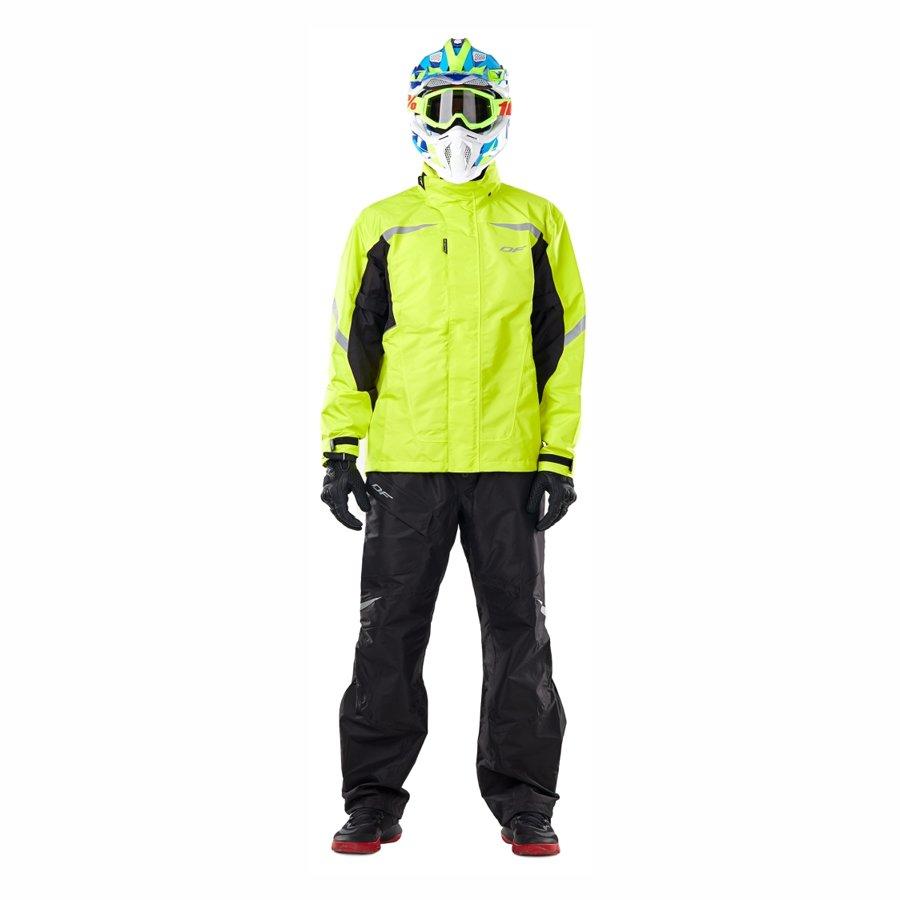Men's raincoat membrane jacket Dragonfly EVO YELLOW