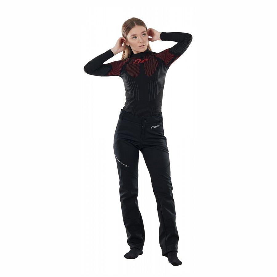 Women's pants Dragonfly Explorer Black