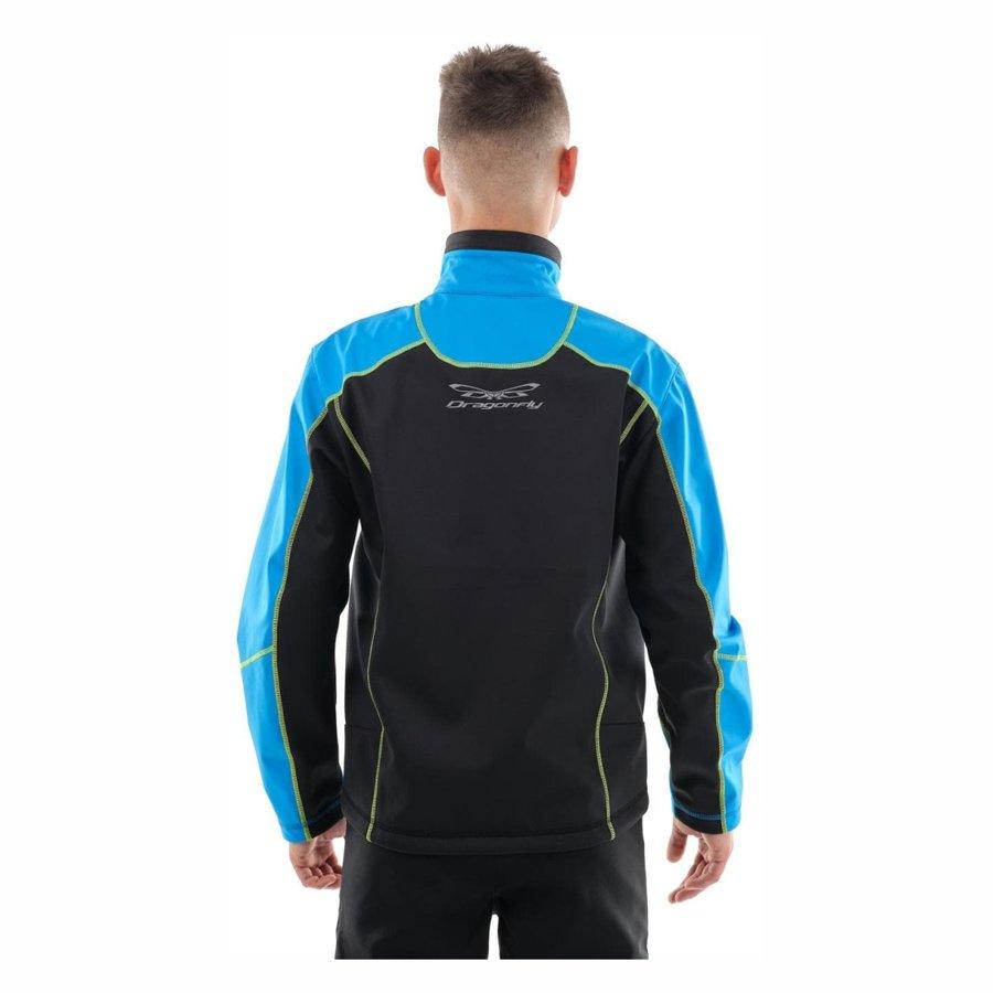 Vīriešu jaka Dragonfly Explorer BLUE-YELLOW