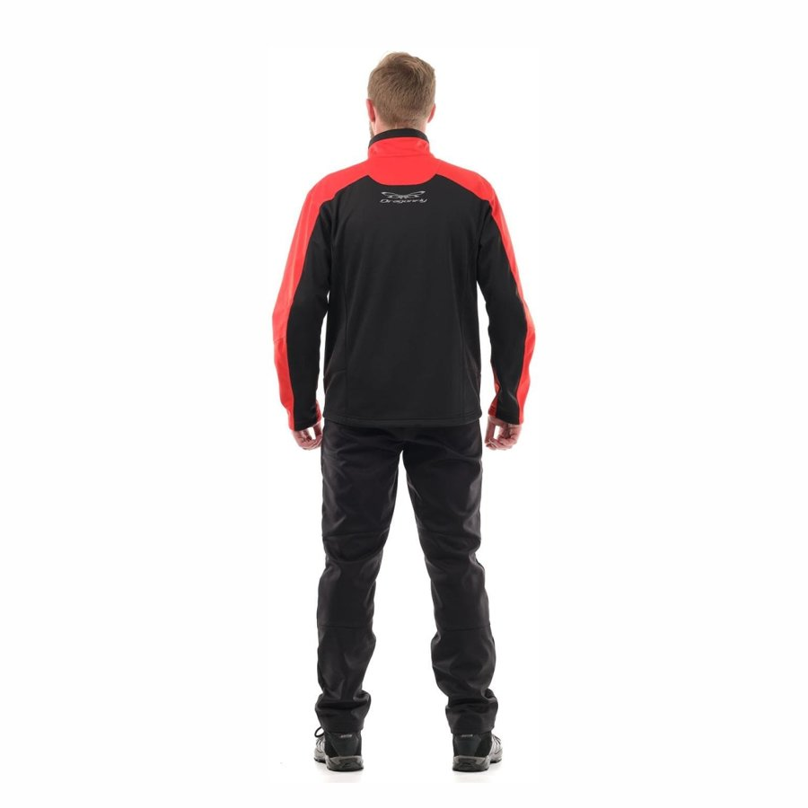 Vīriešu jaka Dragonfly Explorer Red