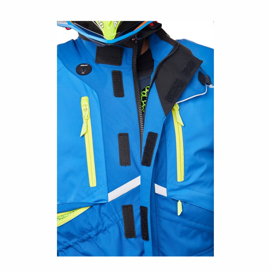Enduro jaka Dragonfly Freeride DF Blue-Yellow