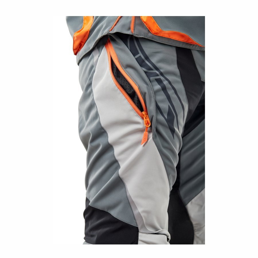 Enduro bikses Dragonfly Freeride DF Grey-Orange