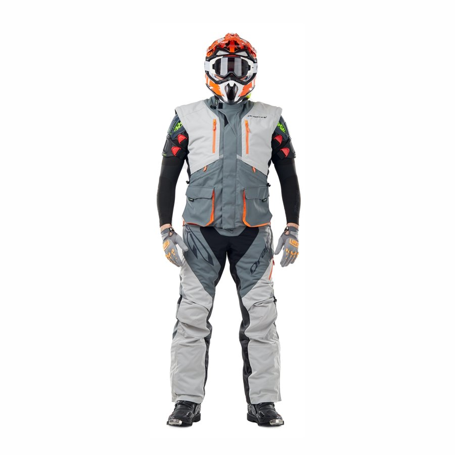 Enduro jaka Dragonfly Freeride DF Grey-Orange
