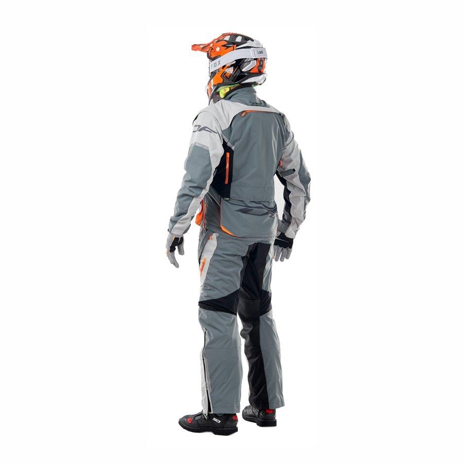 Enduro jaka Dragonfly Freeride DF Grey-Orange