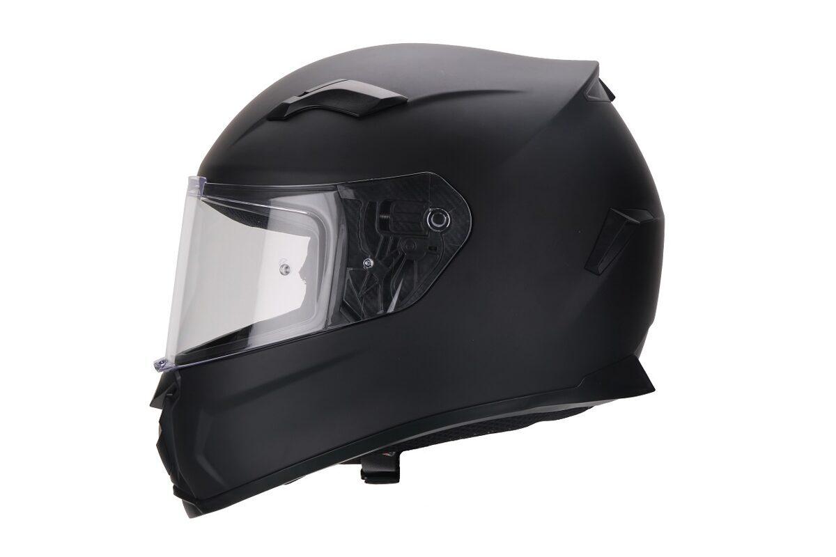Moto ķivere VITO Helmets, modelis DUOMO, krāsa MATĒTI MELNA