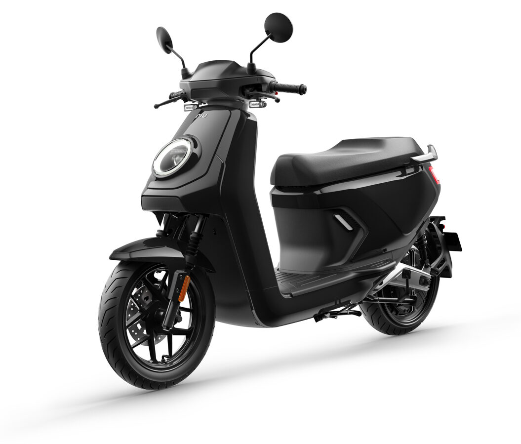 NIU MQi GT elektriskais motorolleris / MELNS