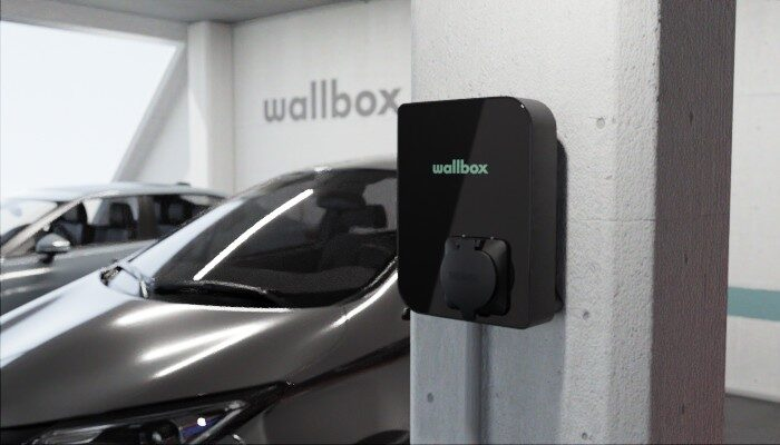 Wallbox Copper SB elektromobīļu uzlādes stacija