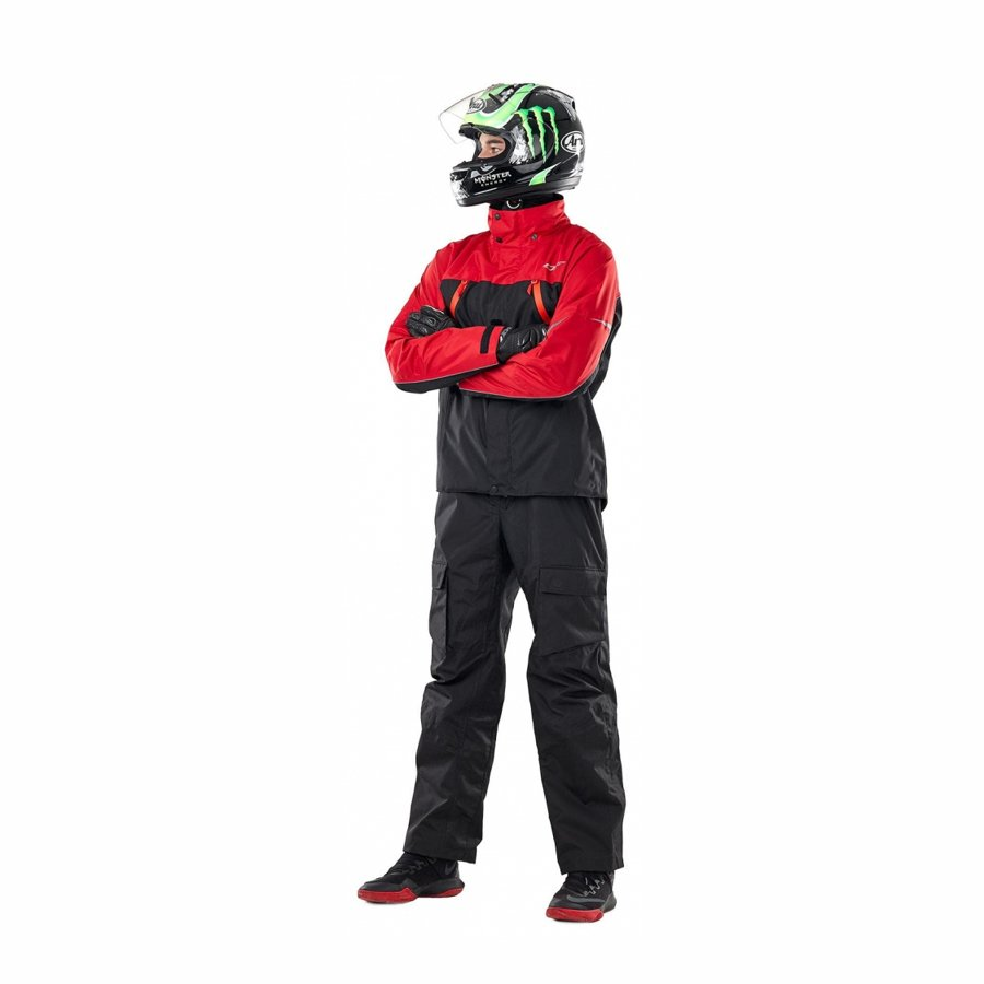 Membrānjaka Dragonfly QUAD BLACK-RED