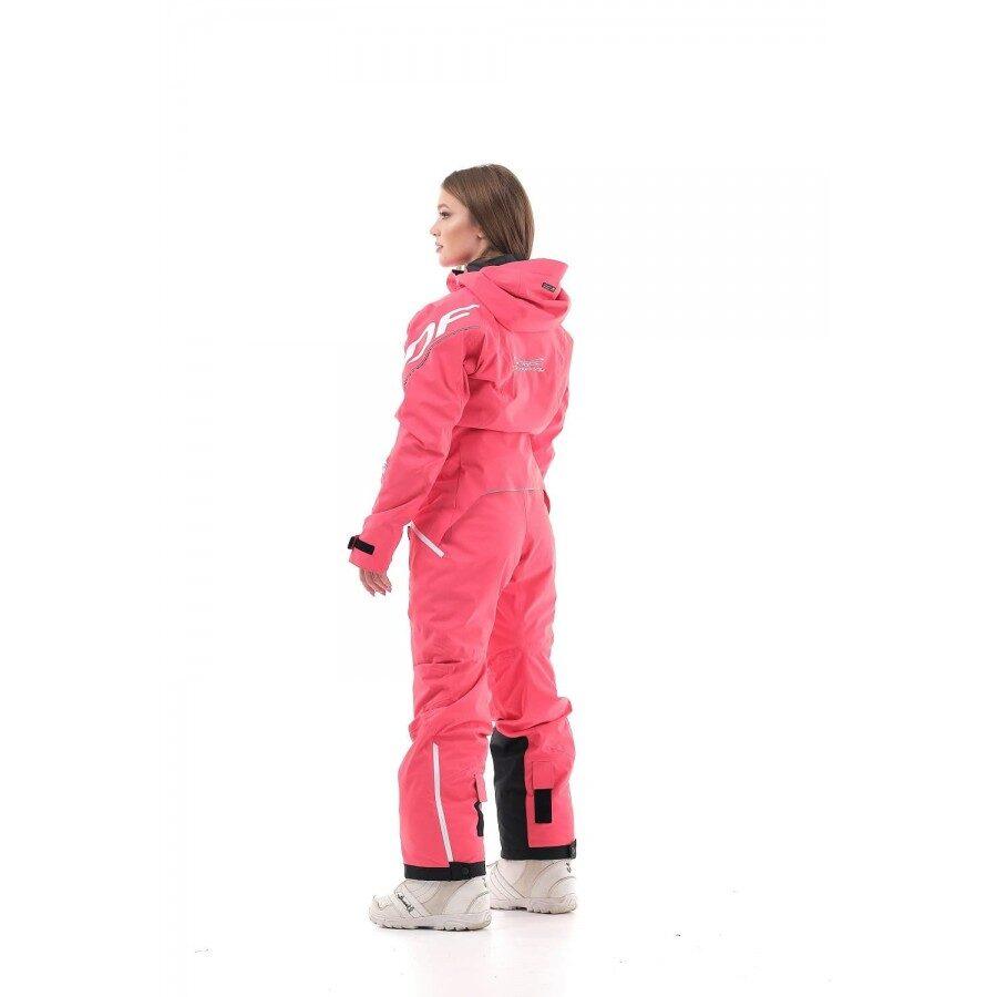DRAGONFLY OVERALL SKI PREMIUM sieviešu snovboarda un slēpošanas tērps / kombinezons, ROZĀ