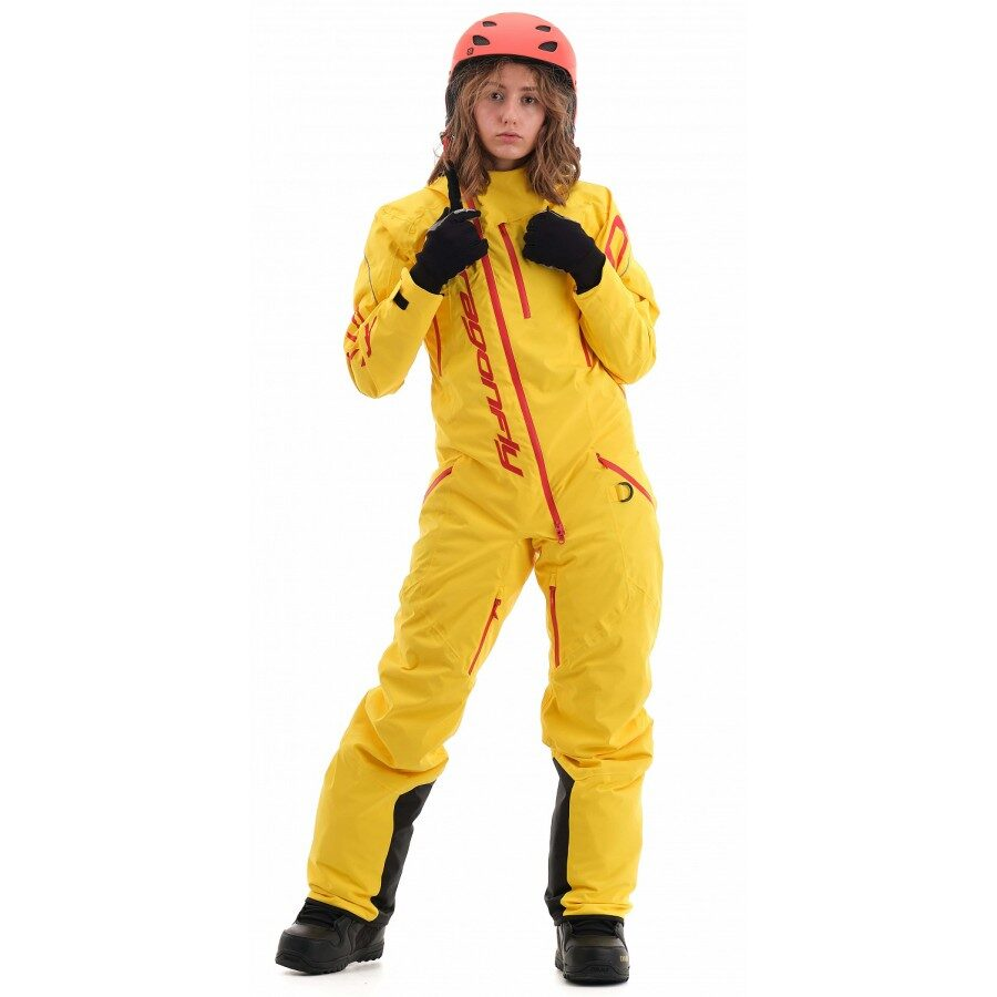 DRAGONFLY OVERALLS GRAVITY PREMIUM WOMAN YELLOW/RED