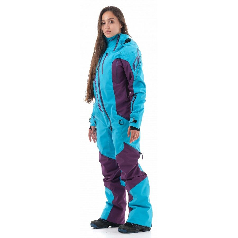 DRAGONFLY OVERALLS EXTREME WOMAN PURPLE/BLUE