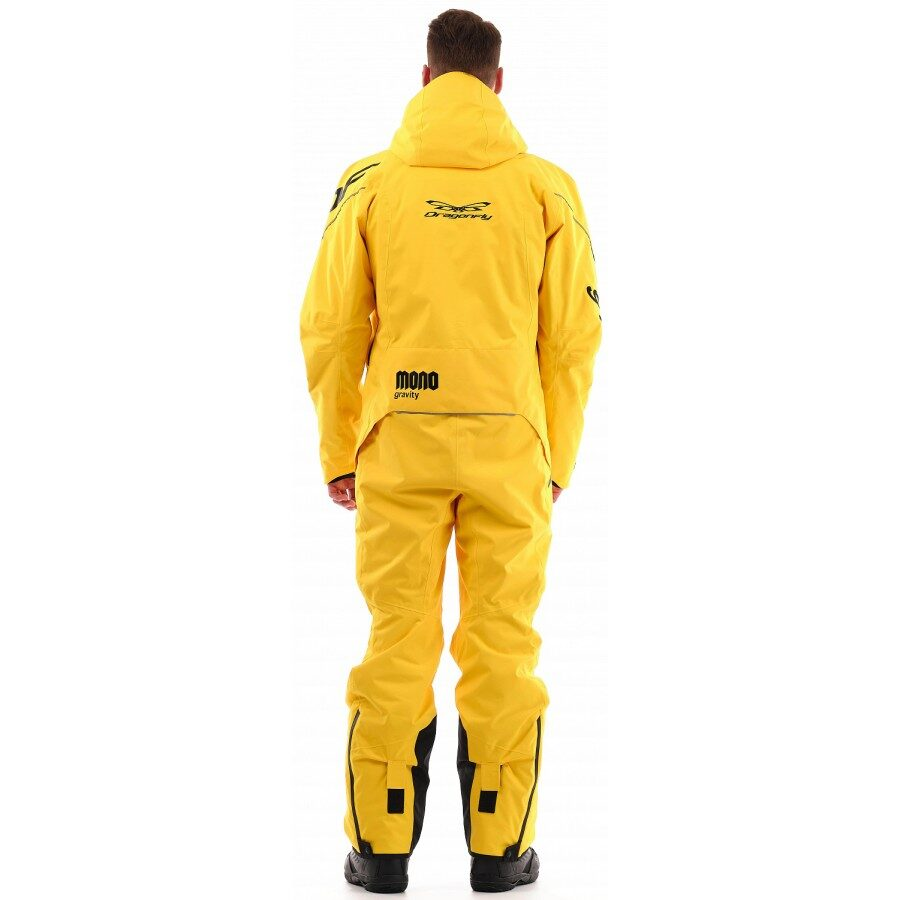 DRAGONFLY OVERALLS GRAVITY MONO MAN DARK YELLOW/BLACK