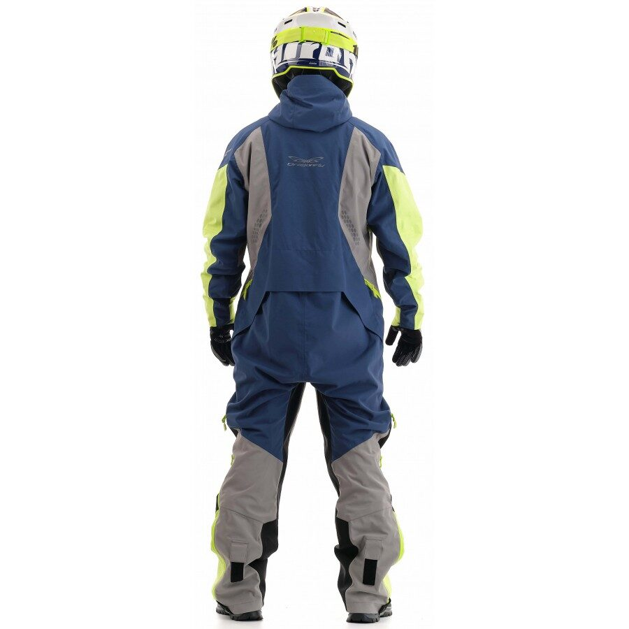 DRAGONFLY OVERALLS EXTREME 2.0 MAN LIMOGES/GREEN FLUO