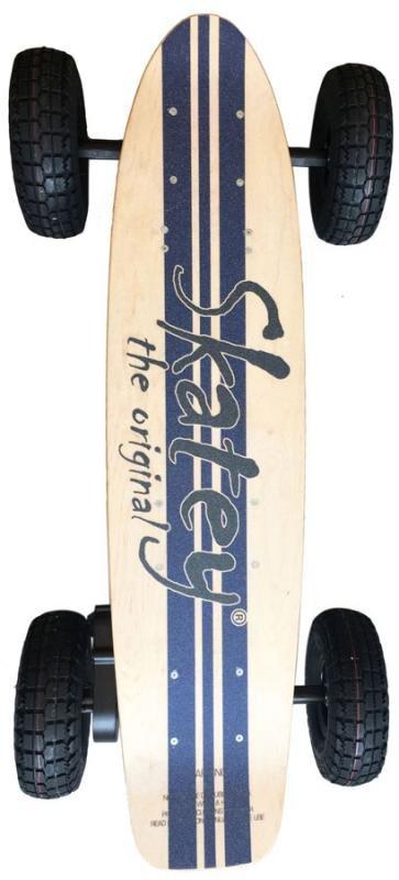 Skatey 900 Lithium Wood-Jeans elektriskais bezceļu skrituļdēlis