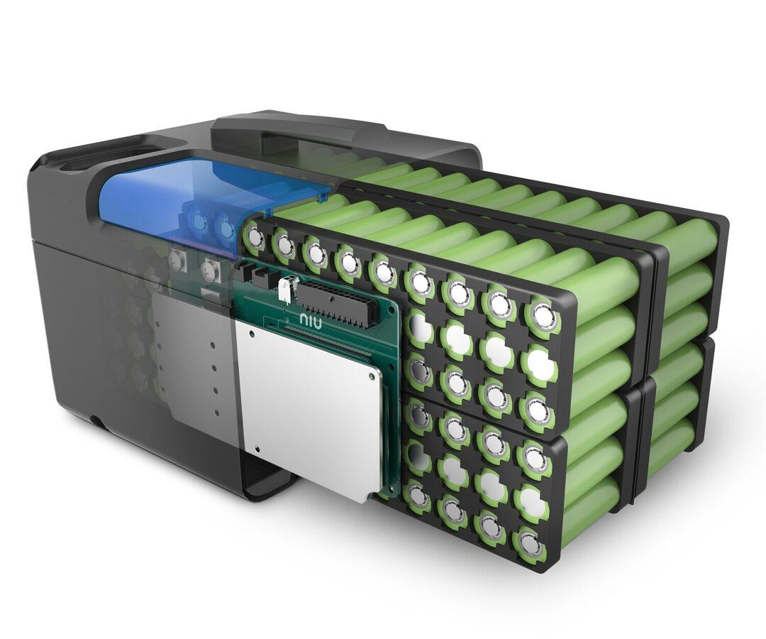 NIU NQi Sport un NQi Cargo sērijas akumulators 60V 29Ah