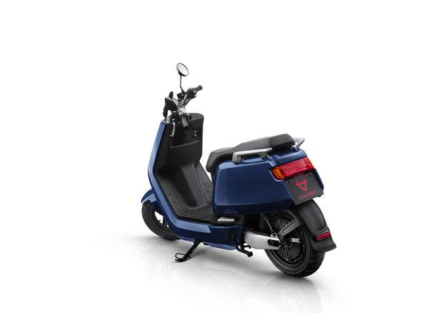 NIU NQi Sport electric scooter, blue