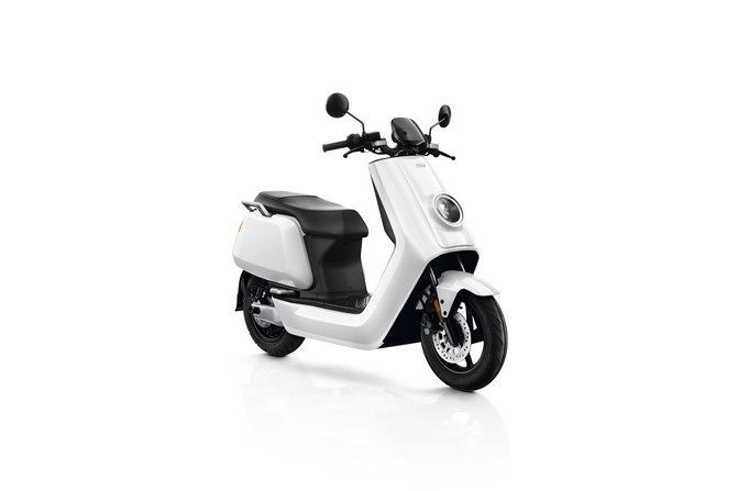 NIU N Sport electric scooter, white