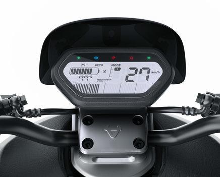NIU NQi Sport elektriskais motorolleris, zils