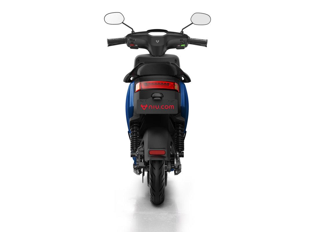 NIU MQi+ Sport elektriskais motorolleris / ZILS