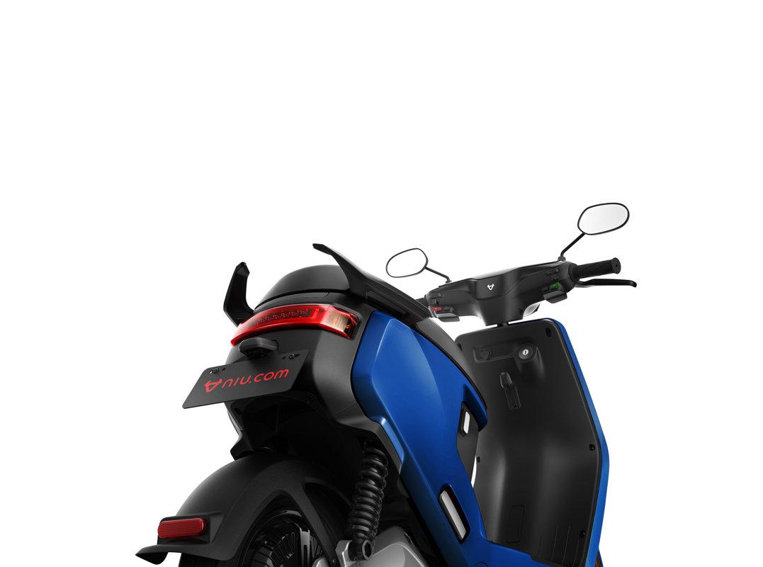 NIU M + Sport elektrinis paspirtukas, mėlynas