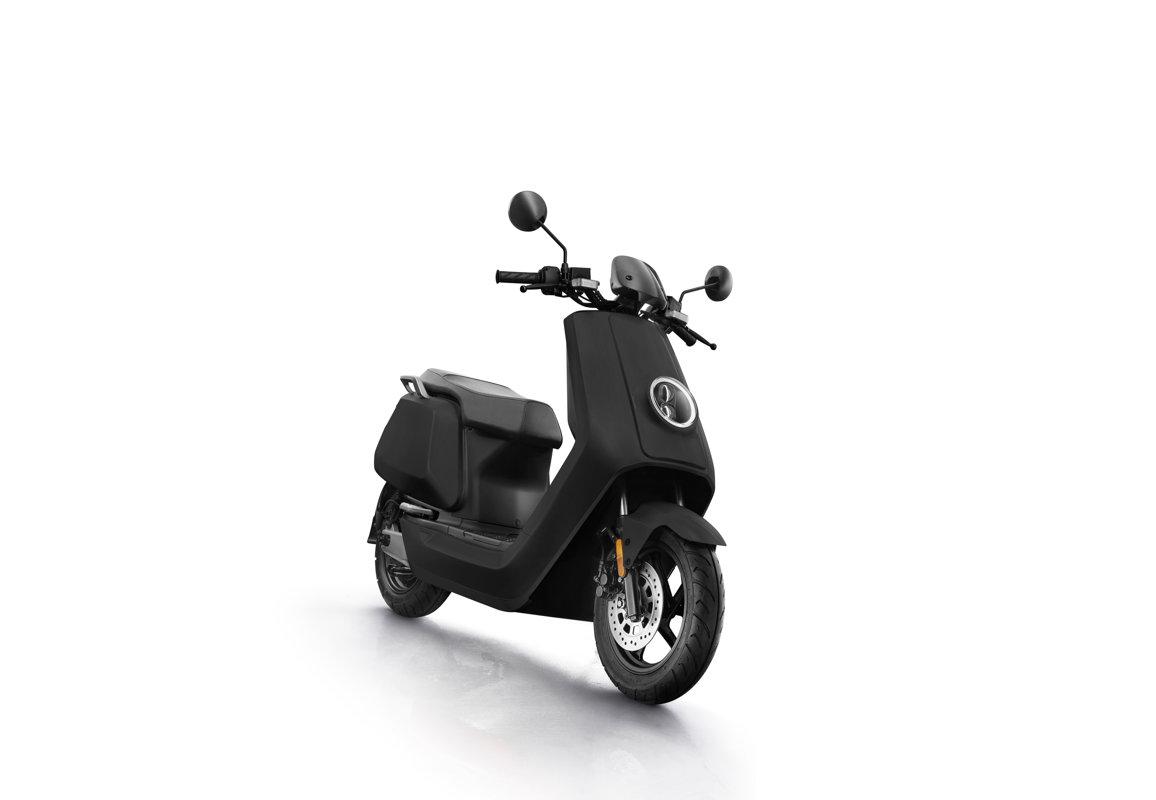 NIU NQi Sport electric scooter, matte black