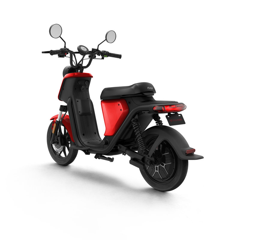 NIU UQi Pro electric scooter, red