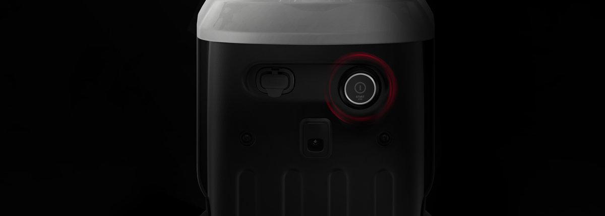 NIU U Pro elektrinis paspirtukas, juodas su raudonomis juostelėmis