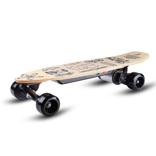 Skatey 150 Lithium Wood Art электрический скейтборд
