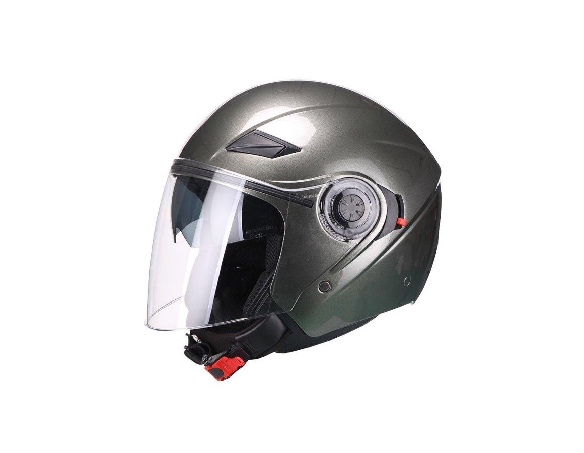 Helmet AMARO, metallic