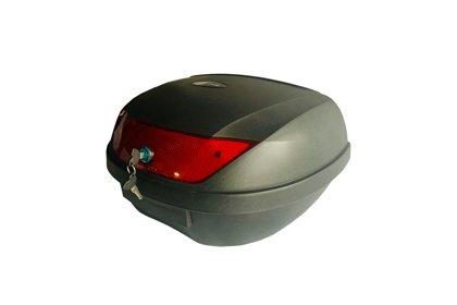 Moto bagāžas kaste, melna, 51 litr