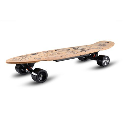 Skatey 350 Lithium Wood Art electric board