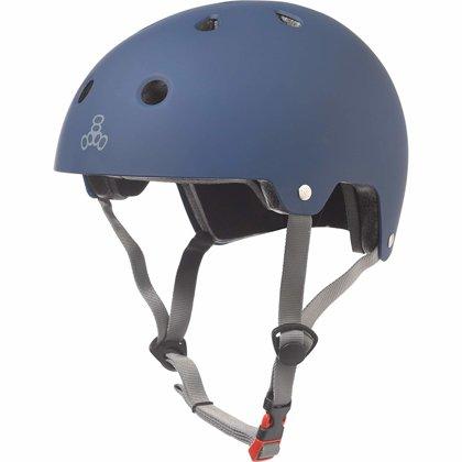 Aizsargķivere Triple Eight Brainsaver, tumši zila