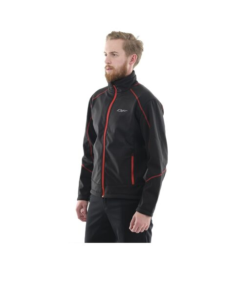 Мужская куртка Dragonfly Explorer Black, softshell