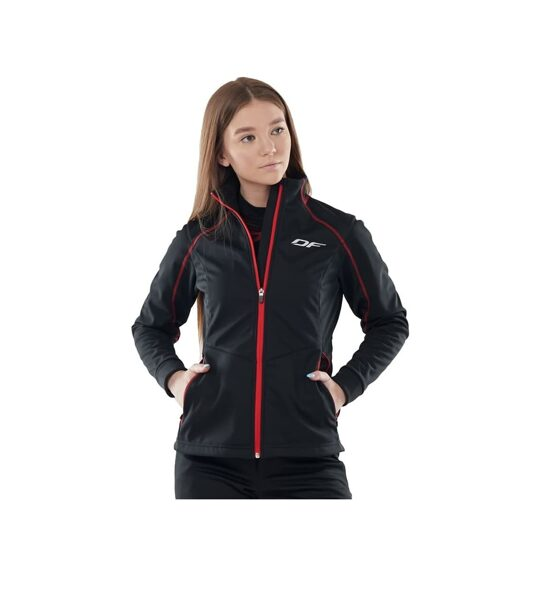 Женская куртка Dragonfly Explorer BLACK, softshell