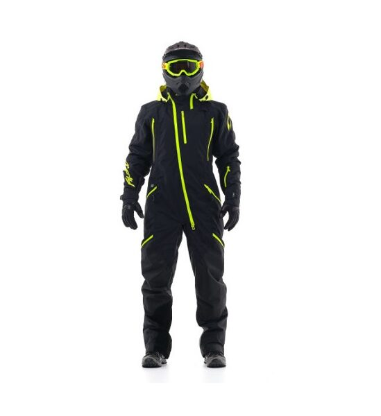 DRAGONFLY OVERALL EXTREME MEN BLACK-YELLOW