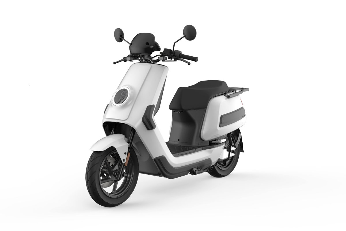NIU NQi Cargo electric scooter for deliveries