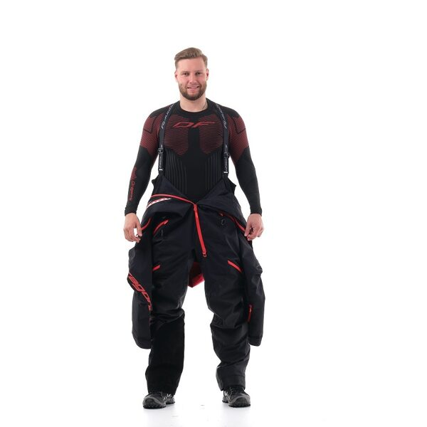 DRAGONFLY OVERALL EXTREME MEN BLACK RED