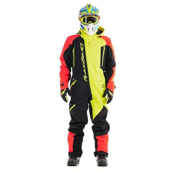 DRAGONFLY OVERALL EXTREME MEN RED-YELLOW