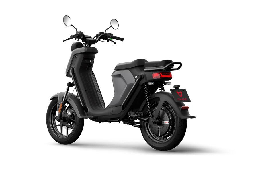 NIU UQi GT Pro електро мотороллер / СЕРЫЙ